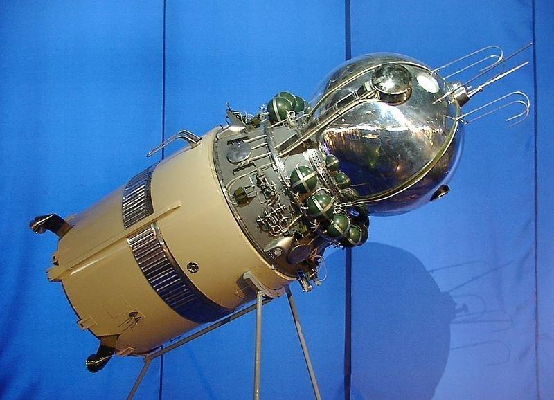 Космический корабль «Восток» - на нем в космос впервые отправился Юрий Гагарин