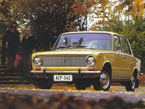 ВАЗ 2101 - легендарный советский автомобиль, сделанный по типу Fiat 124.