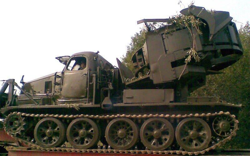 Котлованная машина МДК-2М - машина для инженерных войск