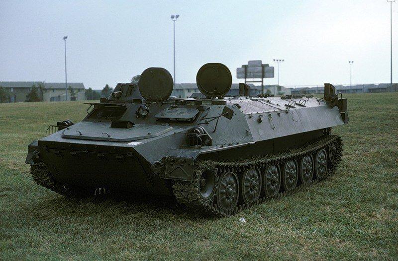 Советский плавающий бронетранспортер МТ-ЛБ