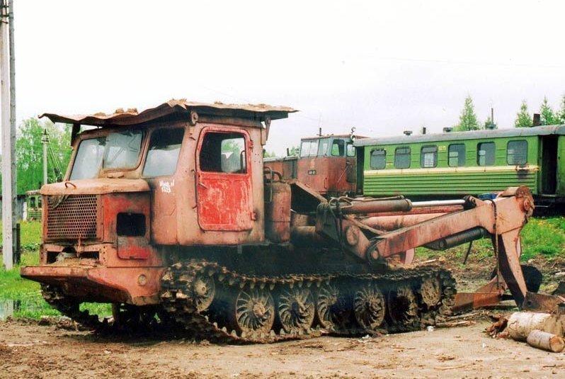 Алтайский трактор ТТ-4-02 создан для лесной промышленности