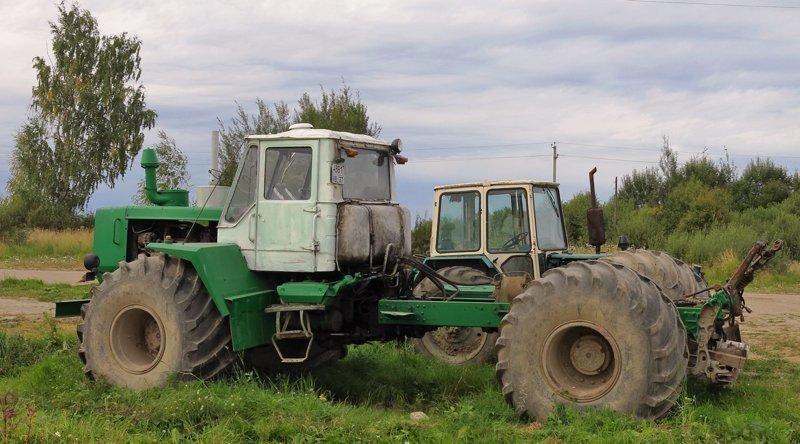 Трактор ЭСВМ-7 с широкопрофильными шинами