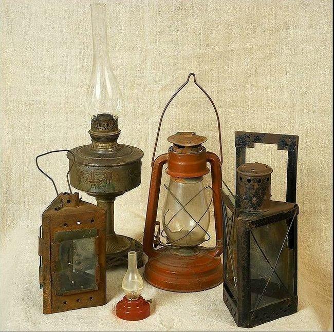 Лампы, работающие на керосине