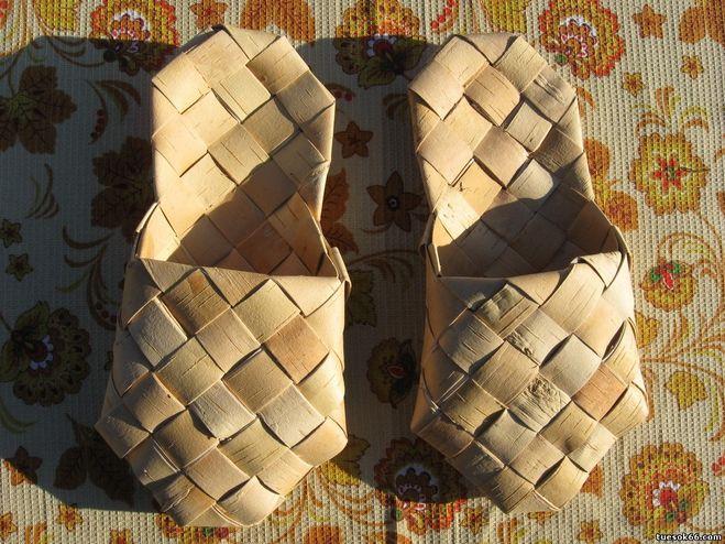 Босовики - домашние туфли; их носили на босую ногу