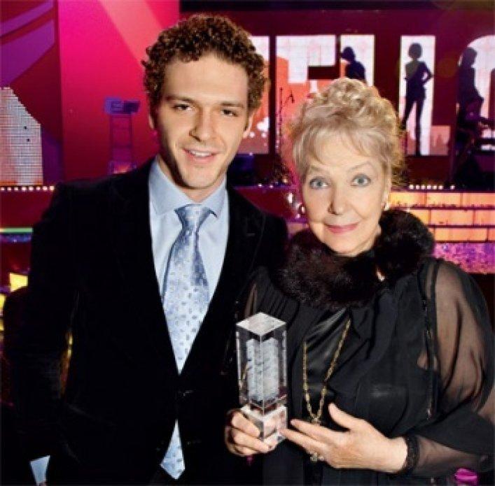 90-летняя звезда и мама Феди Бондарчука – Ирина Скобцева