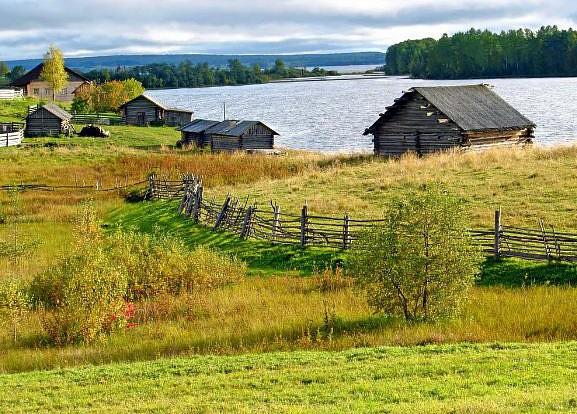 Деревня Качикова Горка, Архангельская область