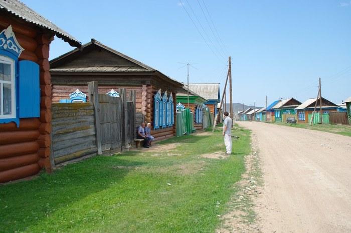 Село Большой Куналей в Бурятии