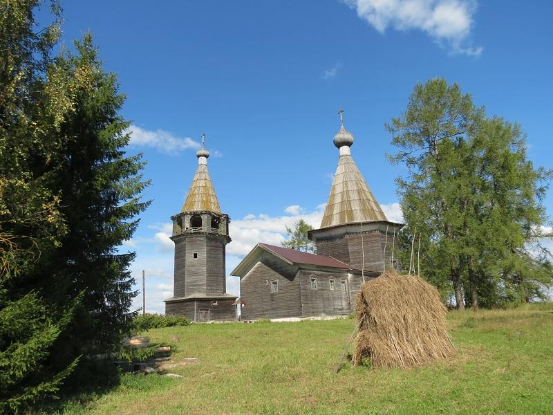 Деревня Ошевенский Погост, Архангельская область