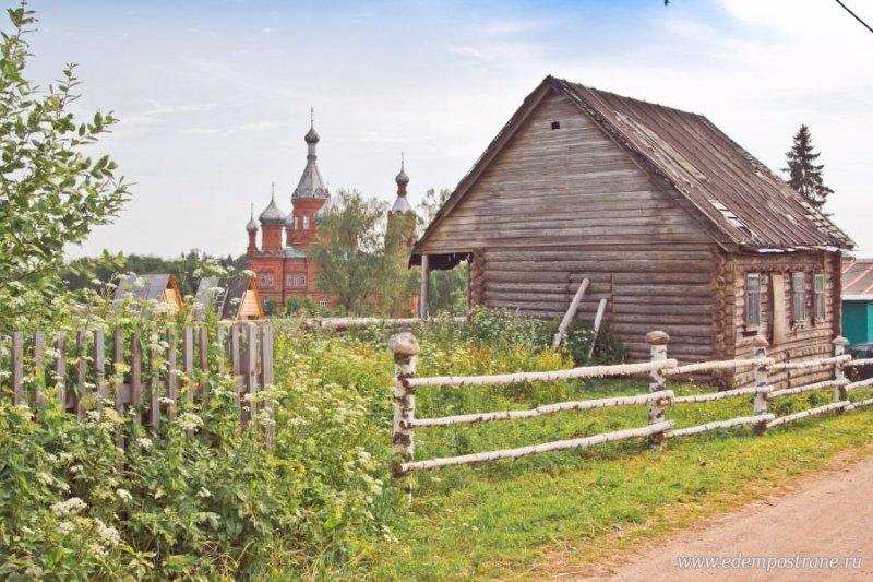 Деревня Волговерховье, Тверская область