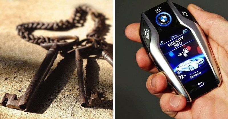 Какой из этих ключей проще потерять?