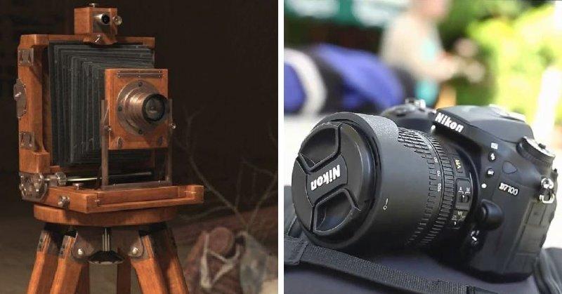 Фотоаппарат настолько изменился, что даже внучатым племянником старых аппаратов его не назовешь...