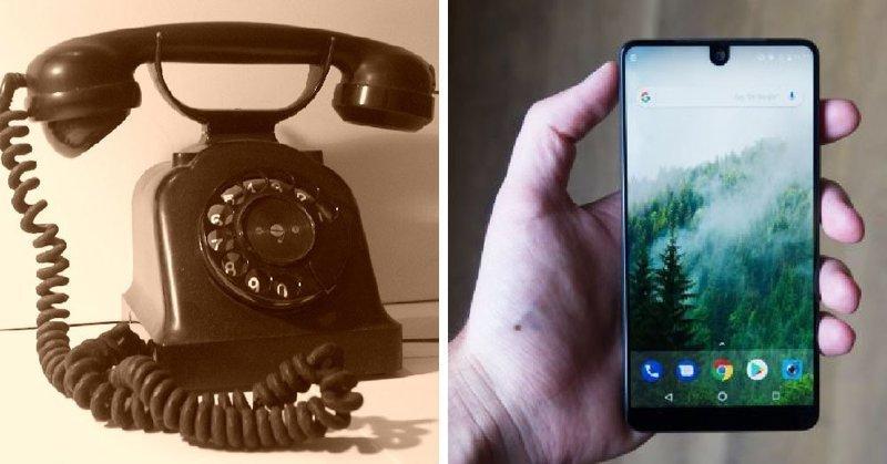 Сама заметная трансформация настигла телефонный аппарат