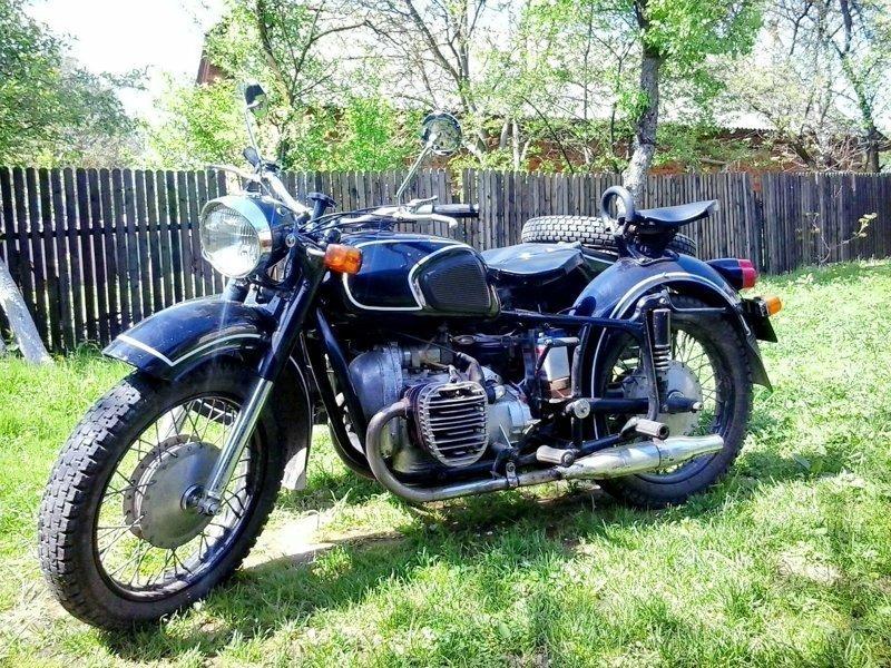 """Начнем, пожалуй, с самого романтичного мотоцикла тех лет - """"Днепра"""""""