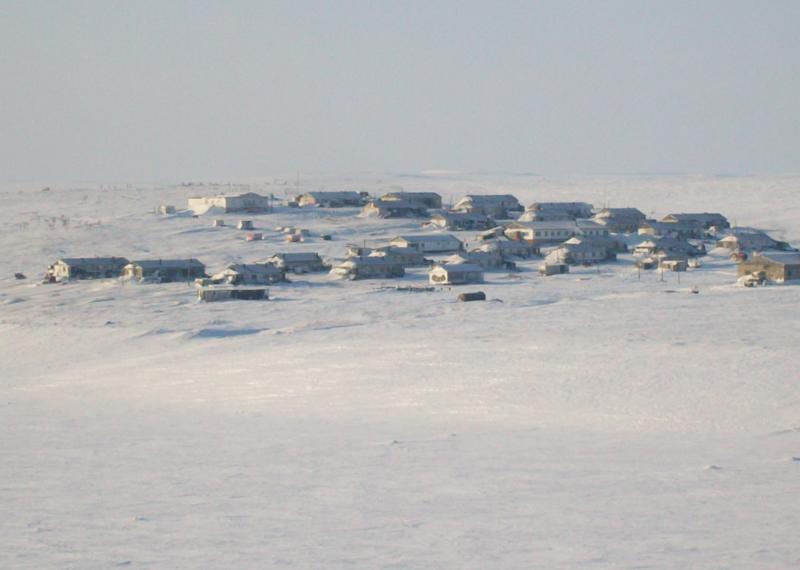 3. Сындасско - один из самых северных населенных пунктов мира