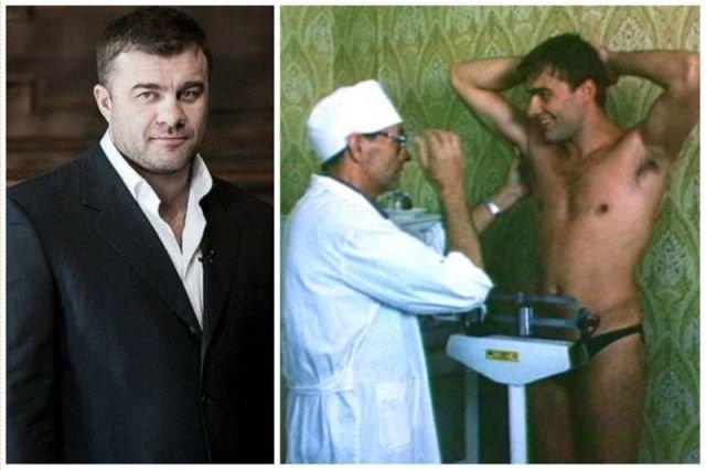 """Итак, начнем с Михаила Пореченкова. Вот он в фильме """"Колесо любви"""". Видимо, еще до увлечения """"качалкой"""""""