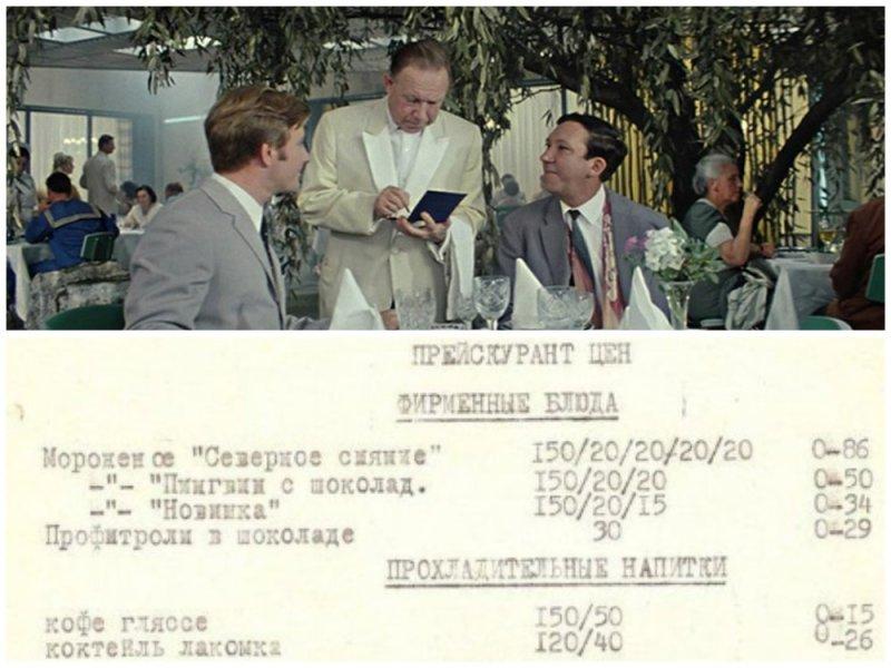 Еда за копейки: меню советских ресторанов и кафе