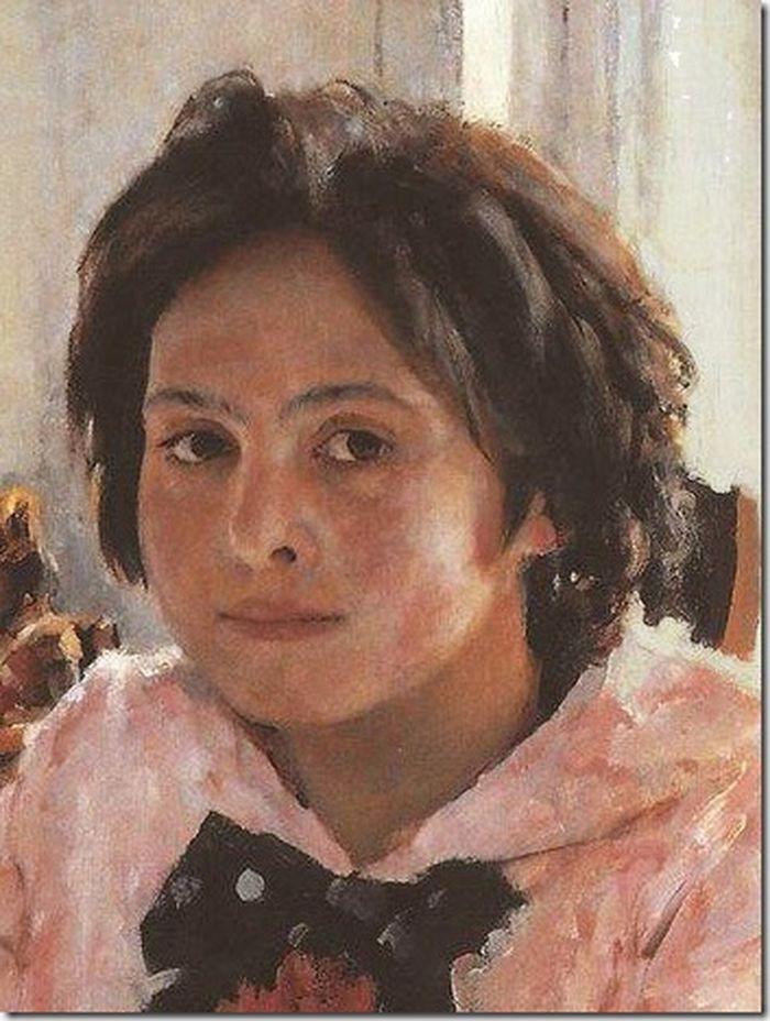 Вера Мамонтова - девочка с персиками