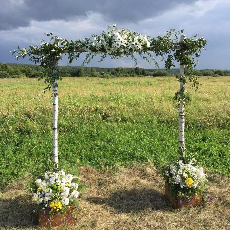 Милая романтика деревенской свадьбы