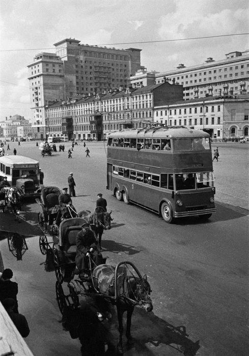 Двухэтажные автобусы, 1935