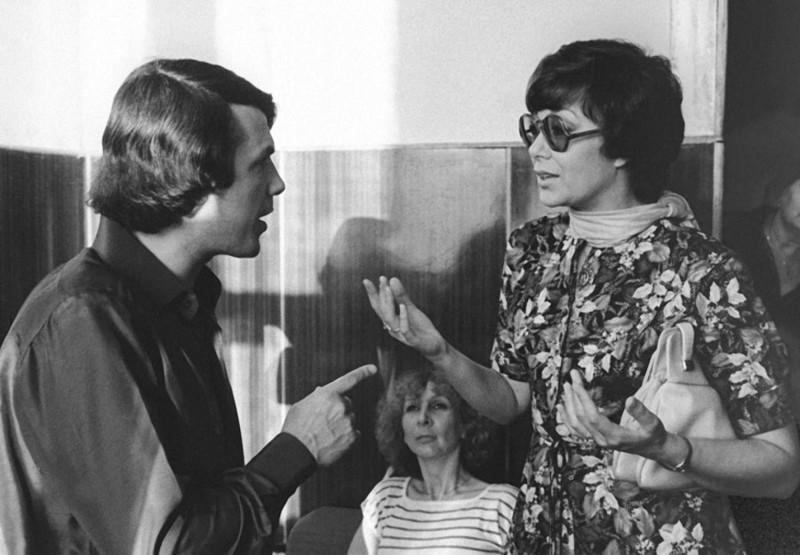 Адамо Сальваторе и Эдита Пьеха уединились, 1981 год