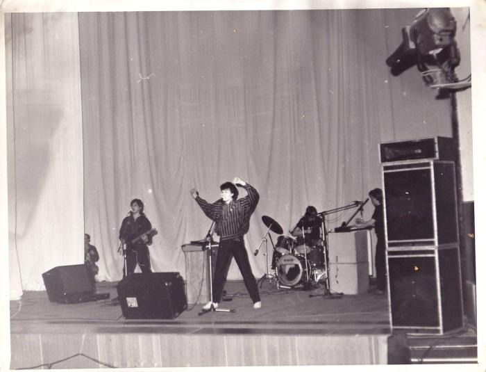 """Группа """"Телевизор"""", выступление в Ангарске, 1987 год"""