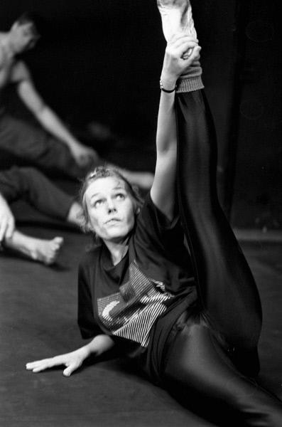 Наталья Андрейченко на репетиции в студии Олега Табакова