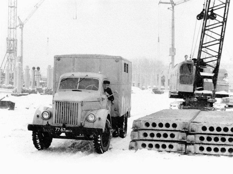 Знаменитый ГАЗ-51, самый популярный грузовик 50-х, 60-х, 70-х