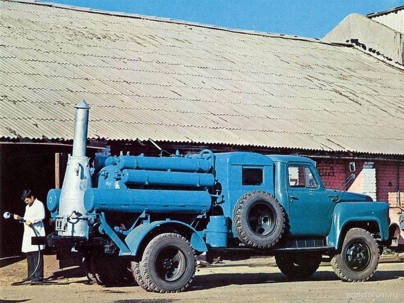 Установка для безинфекции ДУК-1 на шасси ГАЗ-53А