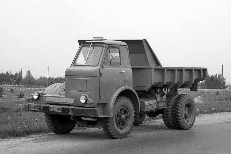 МАЗ-510, экспериментальный вариант. 1962 год
