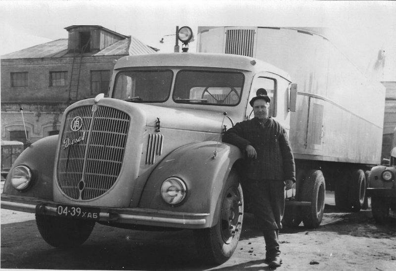 Тягач Austro FIAT 745