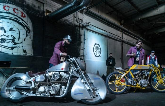 """Дизайнеры превратили Harley Davidson в кастом-байк """"Юрий Гагарин"""""""