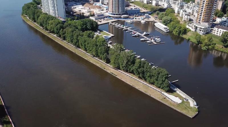 Начал курсировать речной трамвайчик Москва-Химки