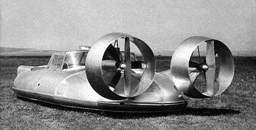 Автомобиль-летун из СССР