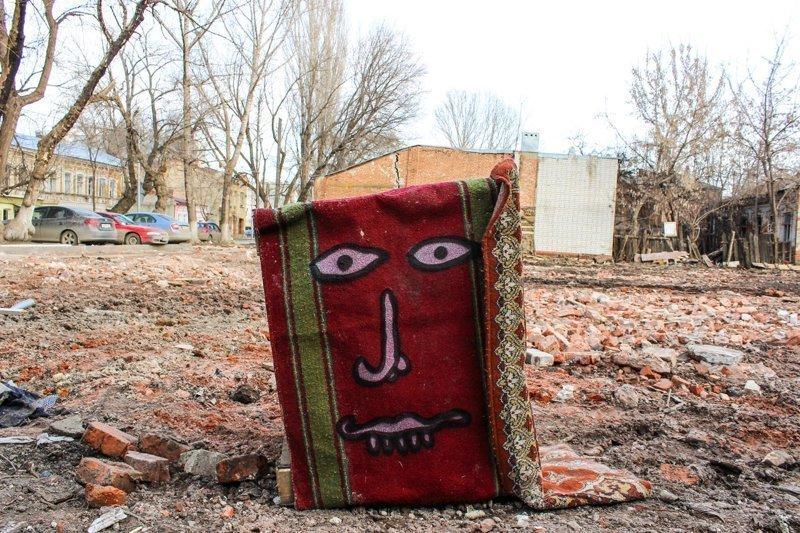 В Саратове ковры приобрели собственное лицо