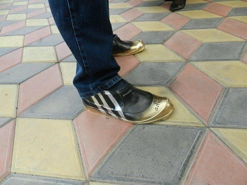 Самое оригинальное, что только можно придумать - это сельская мода...
