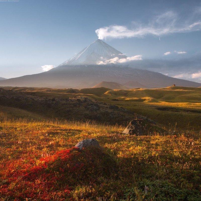 Камчатка и ее величественные вулканы