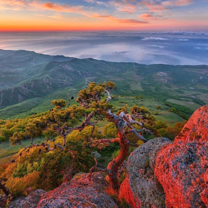 Южная Демерджи (в переводе - кузнец), Крым, рядом с Алуштой