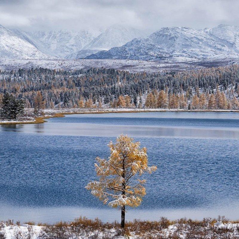 Озеро Киделю, жемчужина озер на Алтае