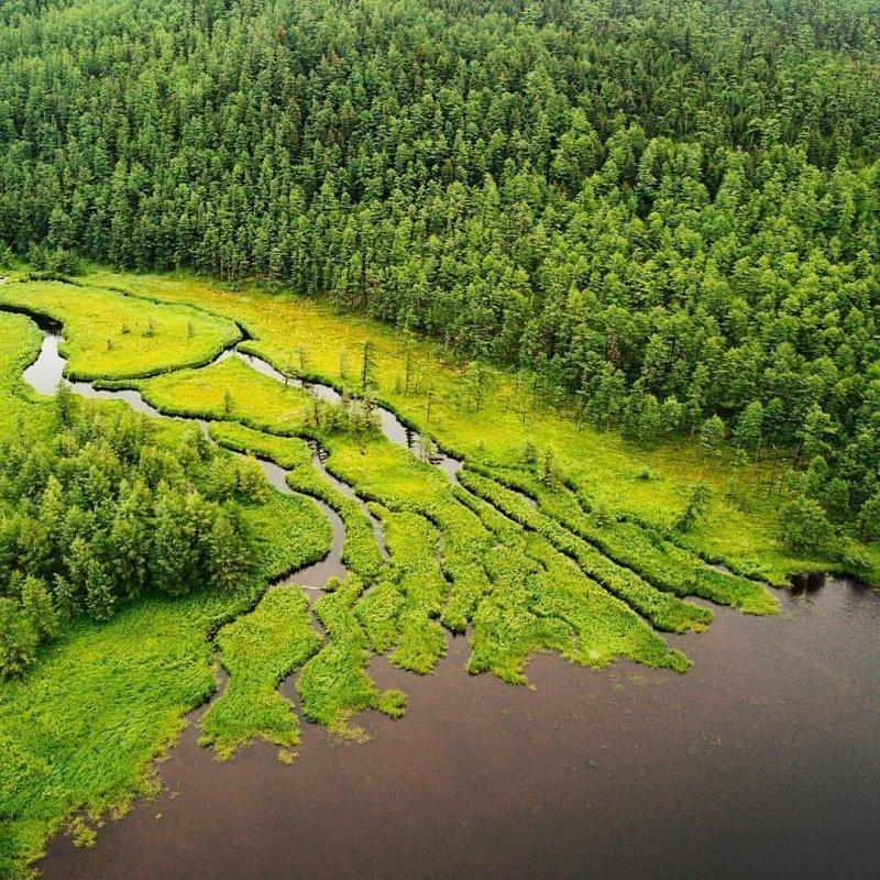 Живописная Бухта Онгачан в Хабаровском крае