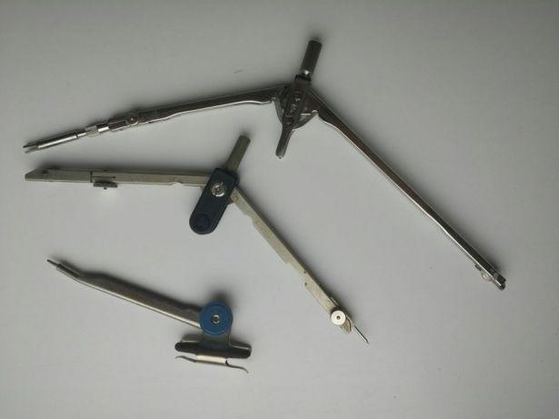 Циркуль - со вставным карандашом и подороже - со вставным грифелем