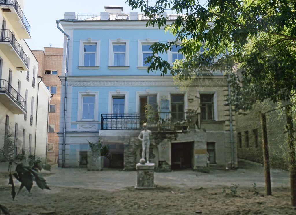 6. Покровские ворота - Гоголевский бульвар