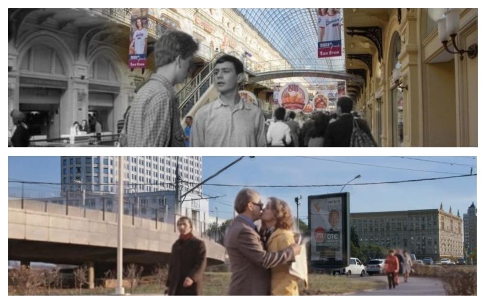"""Как герои 7 советских фильмов попали в """"машину времени"""""""