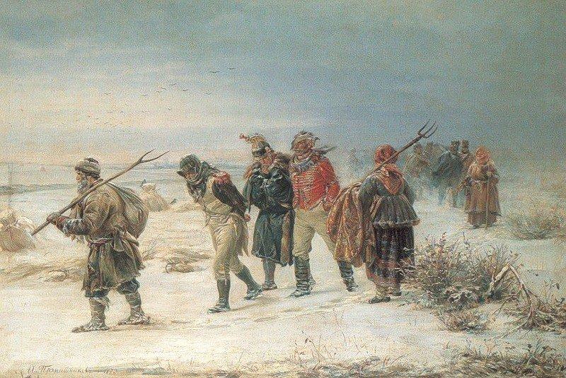 1. Тактика отступления Наполеон, Россия, Франция, война 1812 года, история
