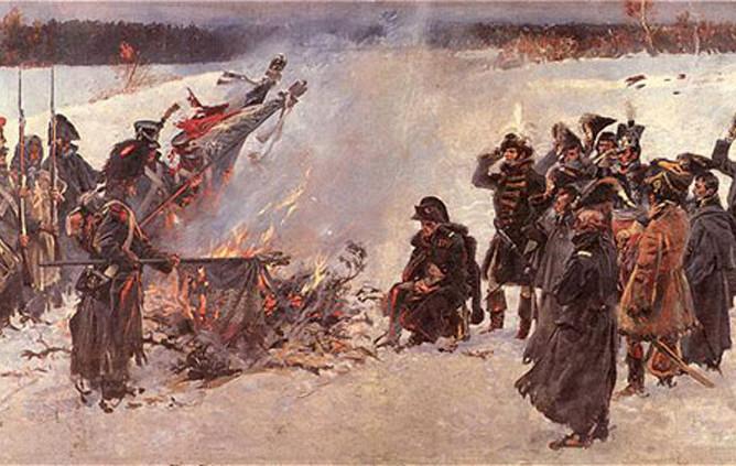 4. Пожары Наполеон, Россия, Франция, война 1812 года, история