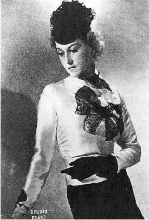 Модель Евгения Дашкевич стала самой красивой девушкой в 1938 году