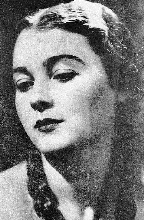 Ариадна Гедеонова, самая красивая девушка в 1936 году