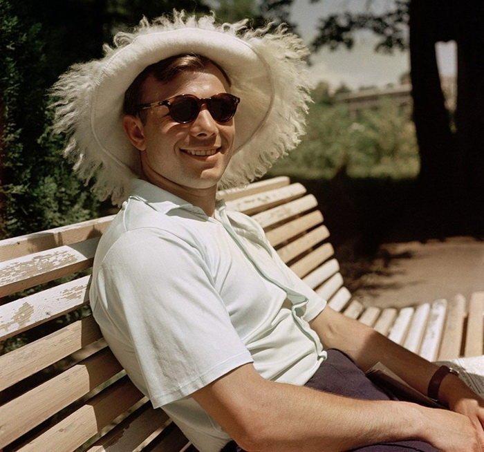 Юрий Гагарин отдыхает в Сочи, 1961 год