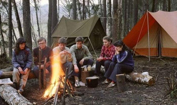 Традиционные походы - рай для молодежи