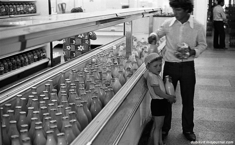 Пробочка из фольги: Детские воспоминания советского любителя молока