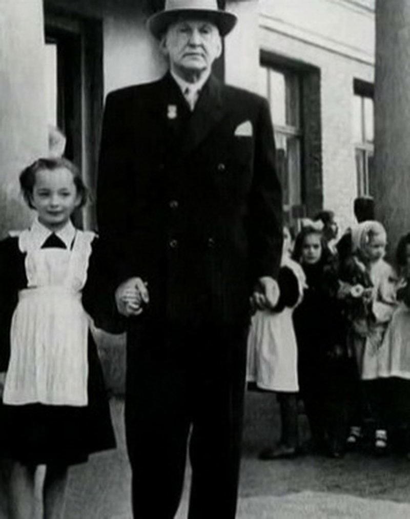 Анастасия Вертинская с отцом, Александром Вертинским